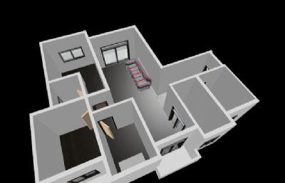家居�粜网B瞰max模型,�o�N�D