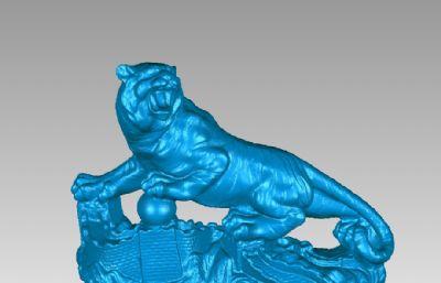 �L城�山虎stl模型