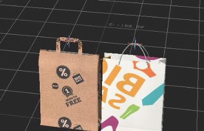 商品�物袋,�Y品袋FBX,MAX模型
