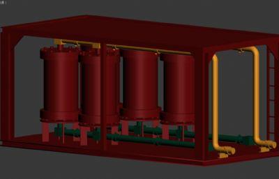 第二款HPT三相分�x器模型