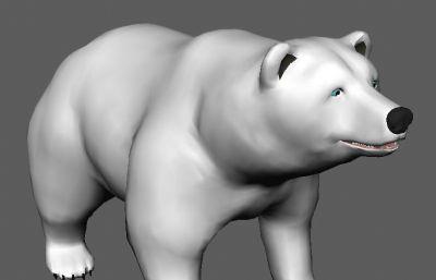 一������的北�O熊maya模型,�Р馁|