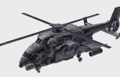游�蚶锏奈溲b直升�C,�w�C模型