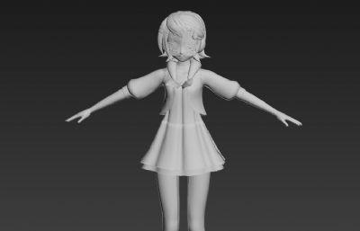 初音未来:歌姬计划游戏角色三