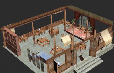 游�蚶锏牟桊^,酒�^3D模型