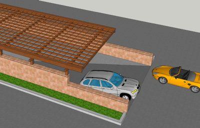 地下车库顶棚,出入口