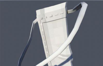 弓+箭+箭筒maya模型,三��mb作品