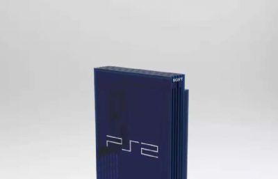 PlayStation2,ps2家用主机模型