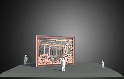 宾兴馆雕塑设计