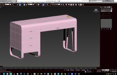 ��字桌,��桌max2015模型
