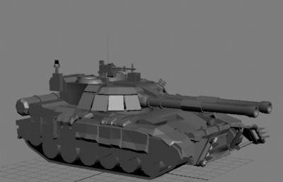 战神坦克max模型