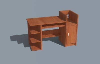 木制电脑桌,书桌