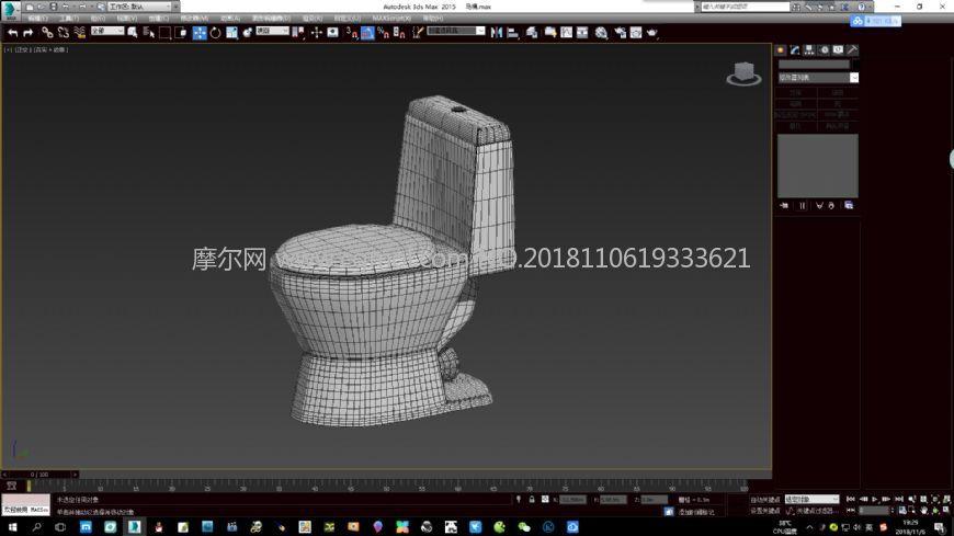 马桶max2015模型