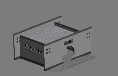 新农村公厕max模型