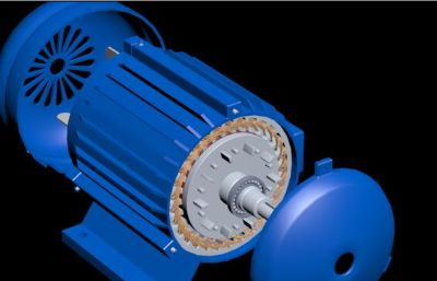 三相异步电机max模型