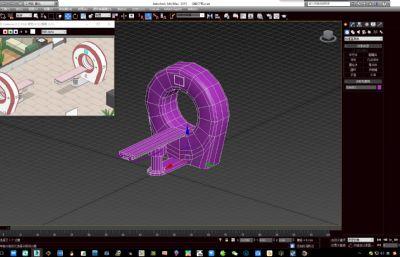 Q版CT機,掃描儀