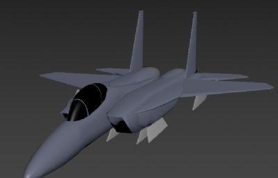 F-15飞机max2018模型