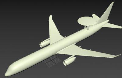 E-767預警機max模型