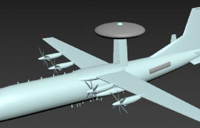 空警-500预警机max模型