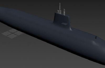 中��海�039G��艇max模型
