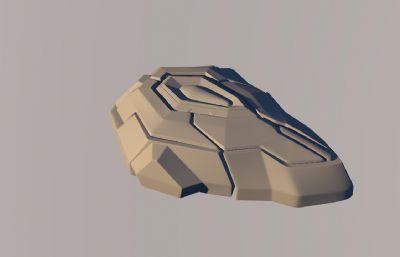 古利特鼠��C4D模型