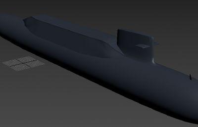中��海�094B核��艇max模型