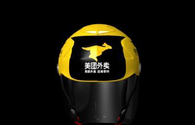 美�F外�u小哥行��^盔maya模型
