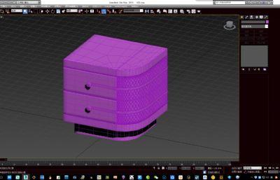 床头柜模型