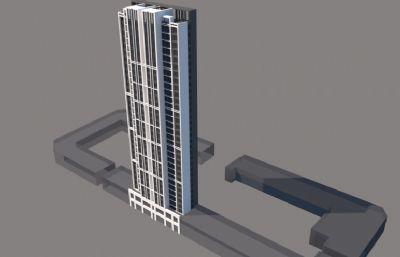 高楼大厦,高层小区