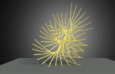 蒲公英雕塑設計