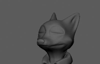 nike尼克,疯狂动物城maya模型