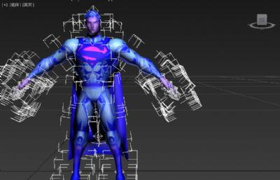 超人形�B模型低模一