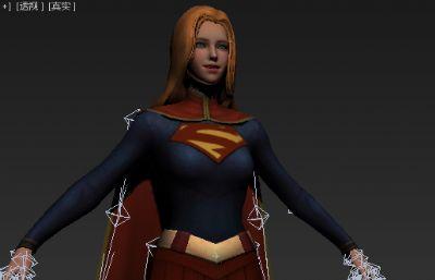 超级少女模型,女超人Max模型