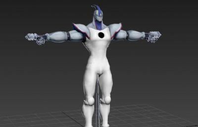 NEOS��形超人max低模模型