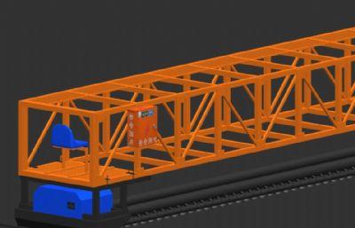 三辊轴式整平机max2012模型