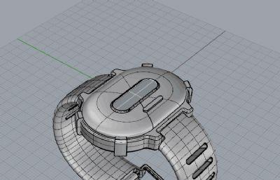 电子手表建模