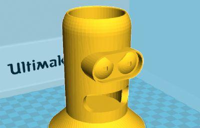 本德�P筒模型,3D打印