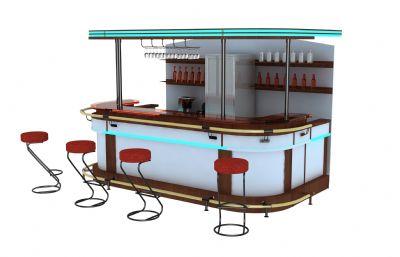 酒吧吧�_max模型