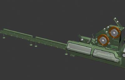 卷烟打包机max模型