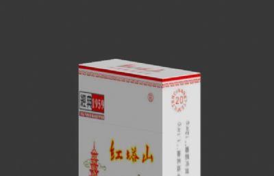 �t塔山香����盒max模型