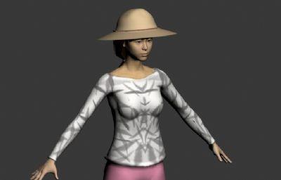 女性农民max模型