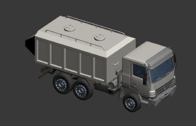 拉沙车max模型