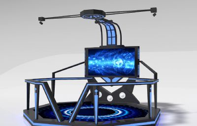 VR体验平台,VR互动体验max模型
