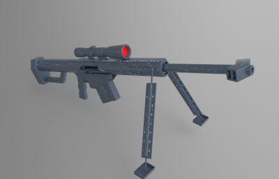 狙���-巴雷特max模型