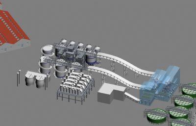 鹽湖化工廠max模型