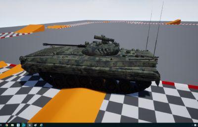 前苏联BMP2坦克,UE4工程文件,带MAX,MA格式(网盘下载)