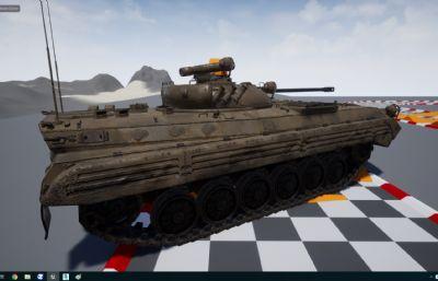 前�K�BMP2坦克,UE4工程文件,��MAX,MA格式(�W�P下�d)