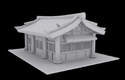 中国古代房子寺庙建筑