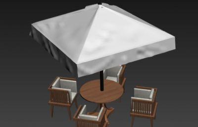 商业阳伞max模型