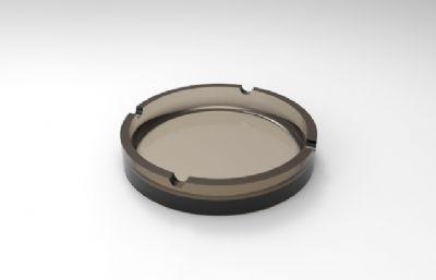 玻璃��灰缸3DM模型