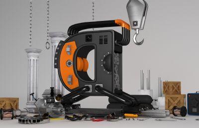 �C械工程�谀堪��bC4D建模